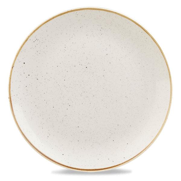 STONECAST BARLEY WHITE - ASSIETTE PLATE 32.4 CM