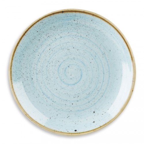 STONECAST DUCK EGG BLUE - ASSIETTE RONDE 28.8 CM